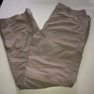 The North Face Convertible pants Size 14